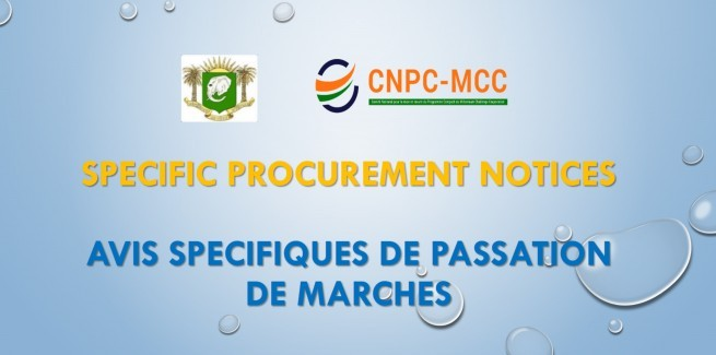 SPECIFIC PROCUREMENT NOTICE (SPN)
