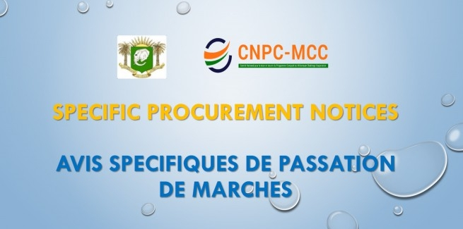 ISPECIFIC PROCUREMENT NOTICE (SPN)