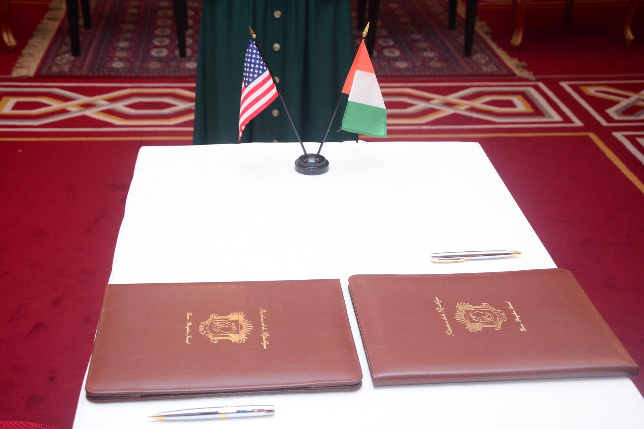 ILancement officiel du programme compact conclu entre le MCC et la Côte d'Ivoire (IMAGES)